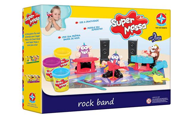Para crianças: Massinha Super Massa Rock Band