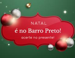 Natal é no Barro Preto
