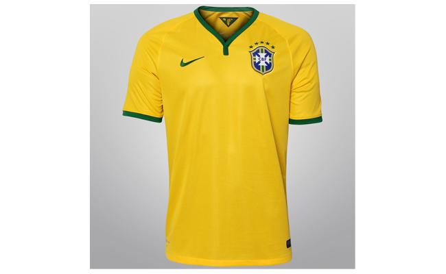 Camisa da Seleção 2014 sem número (torcedor)